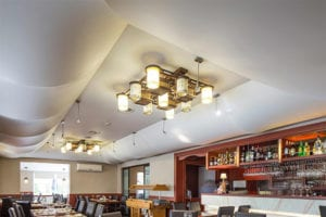 spanplafonds in chinees restaurant