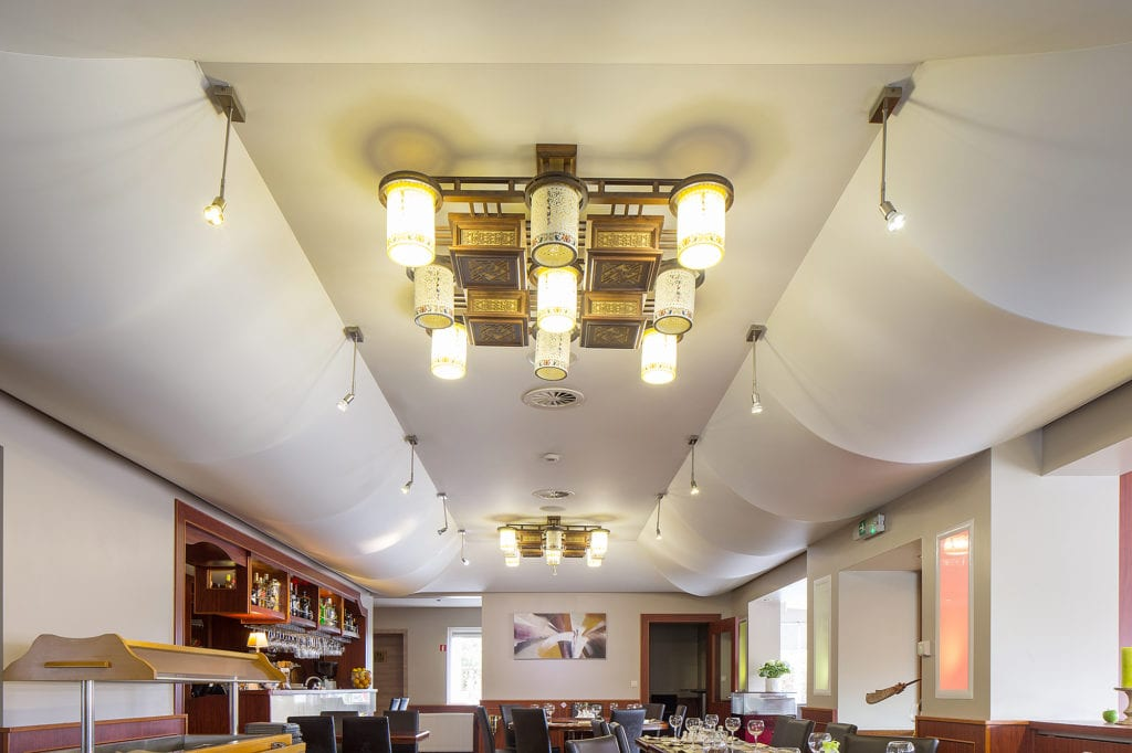 spanplafond chinees restaurant