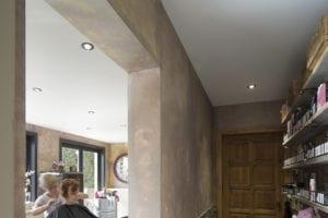 kapper spanplafond 2