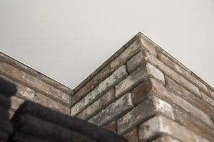 spanplafond kapper detailafwerking