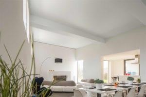 spanplafond moderne woning