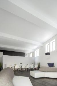Roelens 3 570 px spanplafond woonkamer