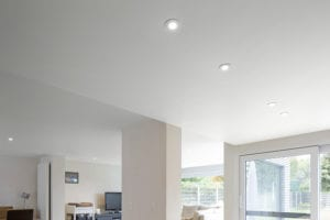 spanplafond in woonkamer