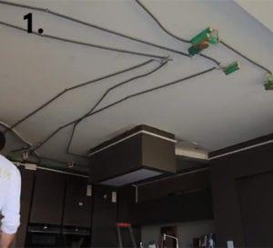 1. Voorbereiding Spanplafond 400x400