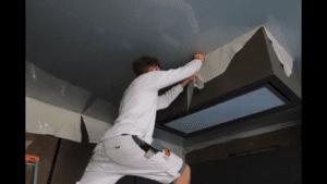 Een Spanplafond plaatsen met Spanlux video