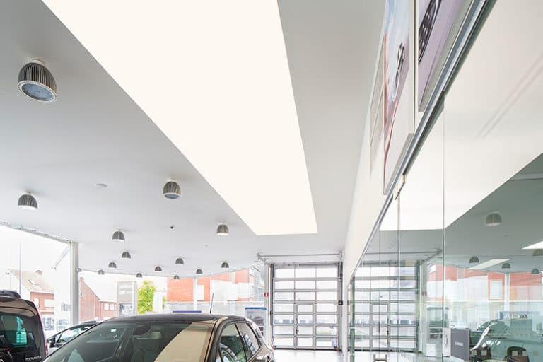 lichtwand garage decleir torhout